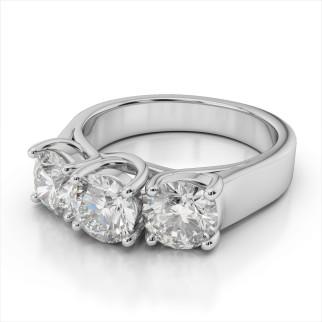 3 stone dia ring