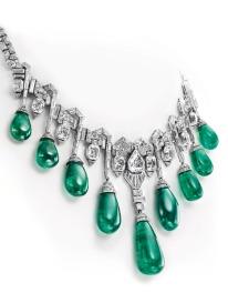 emerald neck