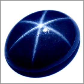 natural star sapph