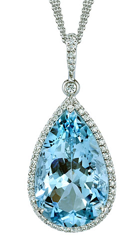gia aquamarine necklace