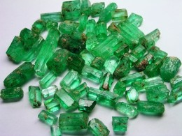 rough emeralds